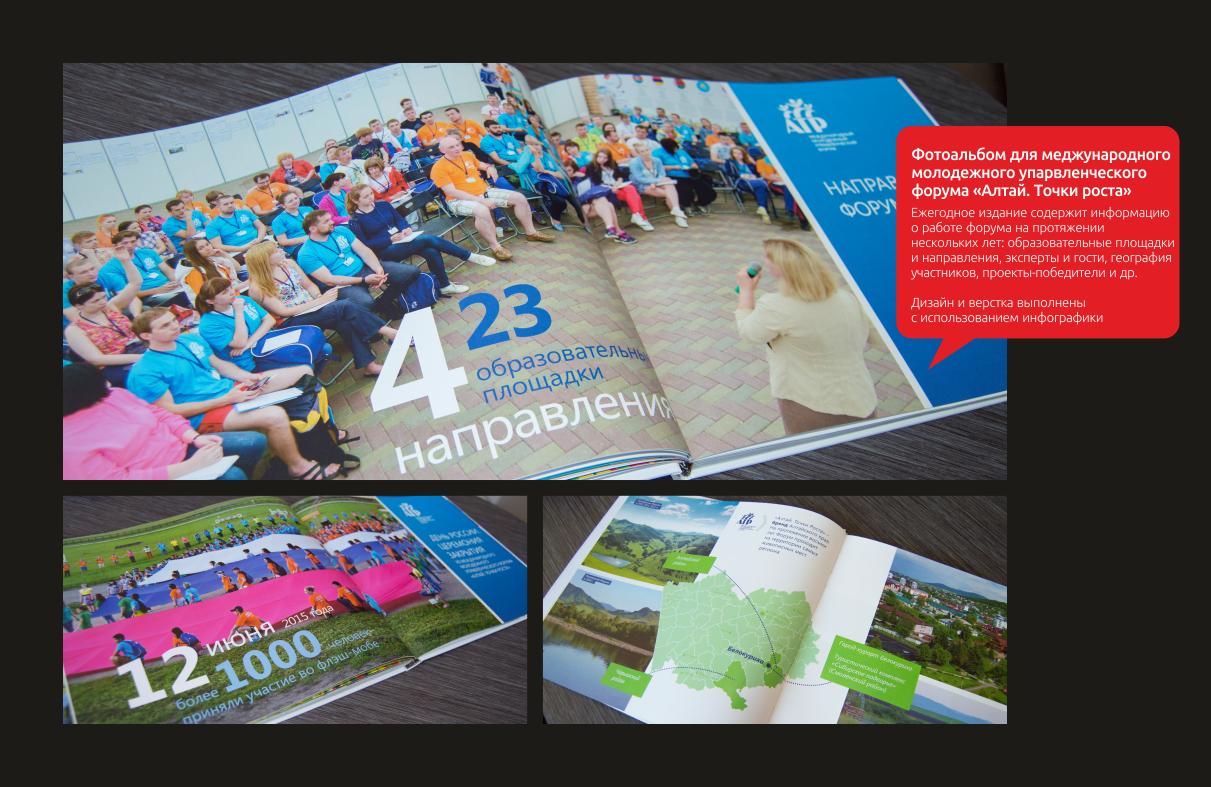 Фотоальбом для меджународного молодежного упарвленческого форума «Алтай. Точки роста»