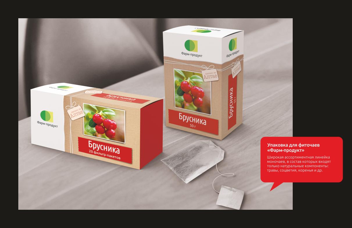 Упаковка для фиточаев «Фарм-продукт»