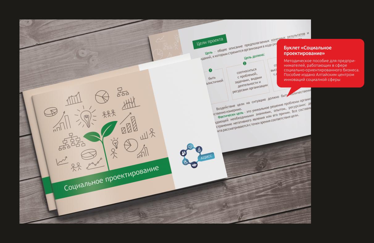 Брошюра «Социальное проектирование»